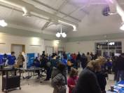"""It was great to see students, parents, and families come out for the event and learn how to """"Save Our Sharks!"""""""