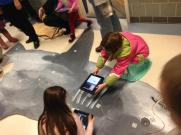 iPads and QR codes are a big hit!
