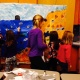5th grade students share the coastal mural with their Kindergarten buddies.